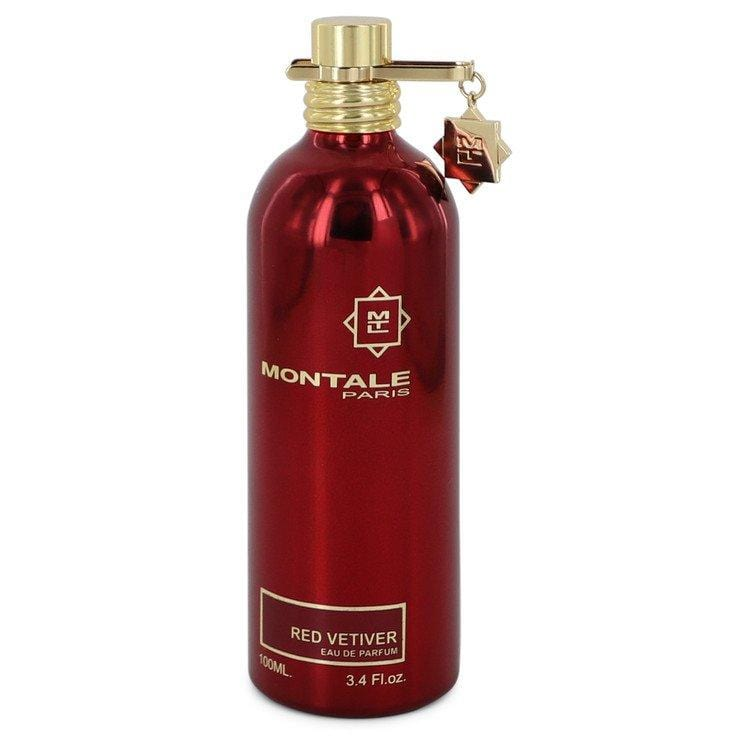 Montale Red Vetiver by Montale Eau De Parfum Spray (unboxed) 3.4 oz for Men