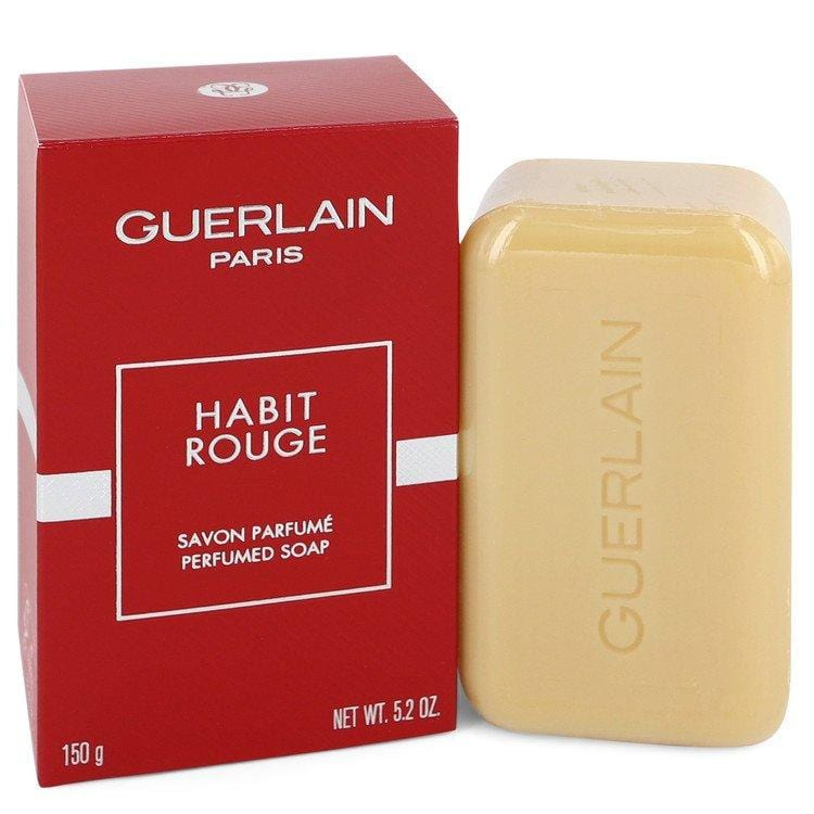 HABIT ROUGE by Guerlain Perfumed Soap 5.2 oz for Men - Oliavery