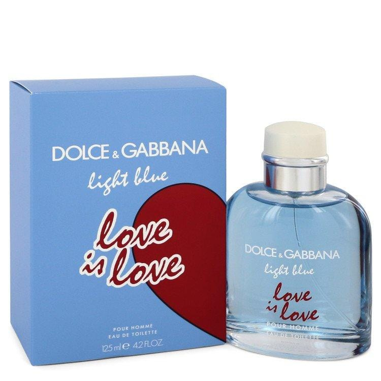 Light Blue Love Is Love by Dolce & Gabbana Eau De Toilette Spray 4.2 oz for Men - Oliavery