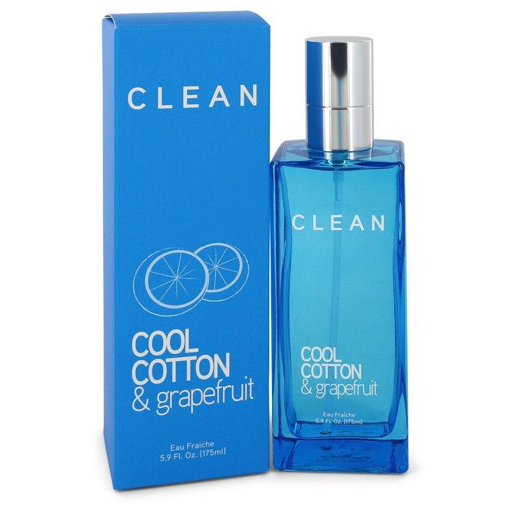 Clean Cool Cotton & Grapefruit by Clean Eau Fraiche Spray 5.9 oz for Women