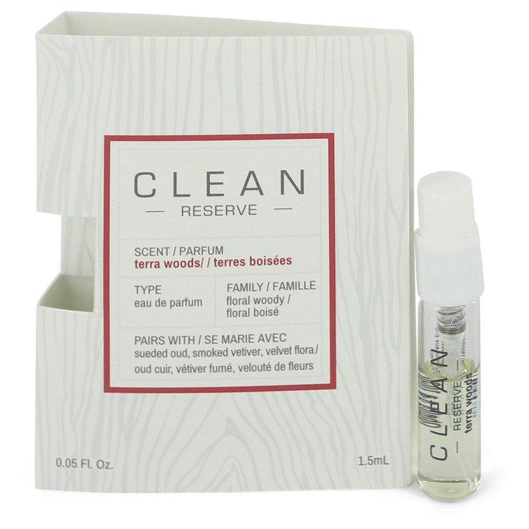 Clean Terra Woods Reserve Blend by Clean Vial (sample) .05 oz for Women - Oliavery