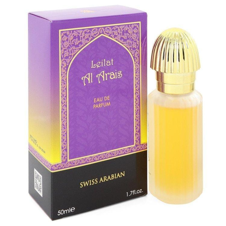 Leilat Al Arais by Swiss Arabian Eau De Parfum Spray 1.7 oz for Men - Oliavery