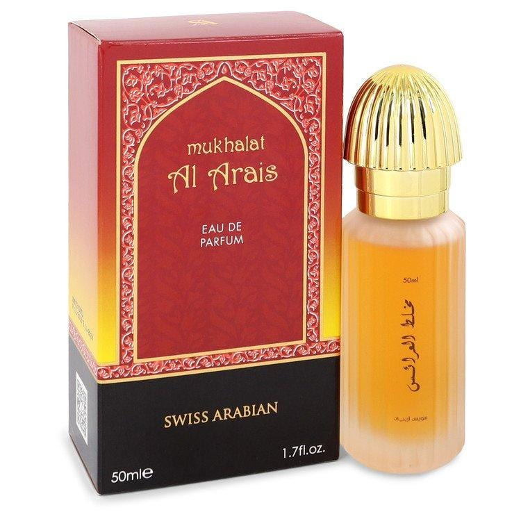 Mukhalat Al Arais by Swiss Arabian Eau De Parfum Spray 1.7 oz for Men - Oliavery