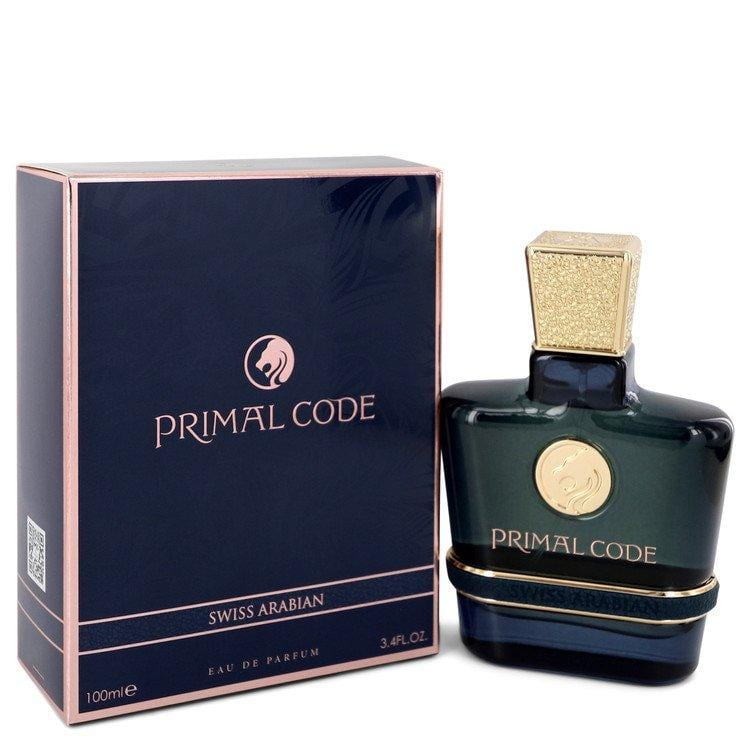 Primal Code by Swiss Arabian Eau De Parfum Spray 3.4 oz for Men - Oliavery