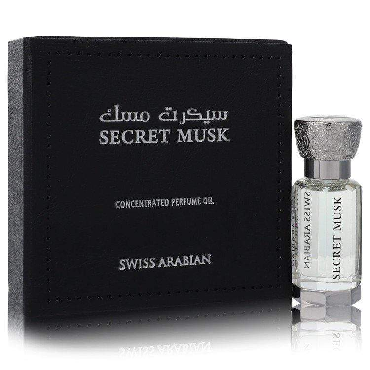 Swiss Arabian Secret Musk by Swiss Arabian Concentrated Perfume Oil (Unisex) .40 oz for Women - Oliavery