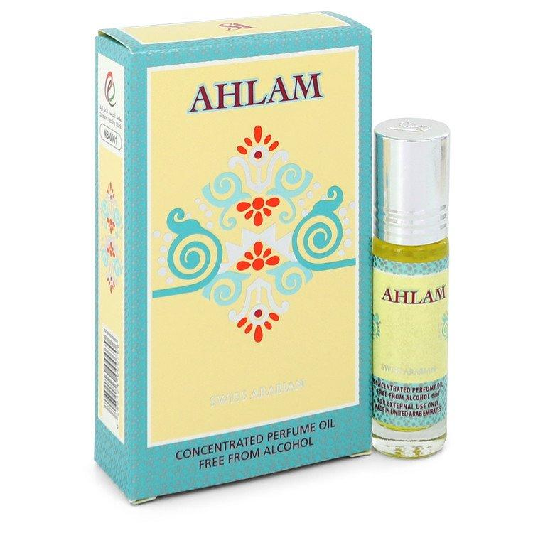 Swiss Arabian Ahlam by Swiss Arabian Concentrated Perfume Oil Free from Alcohol .20 oz for Women - Oliavery