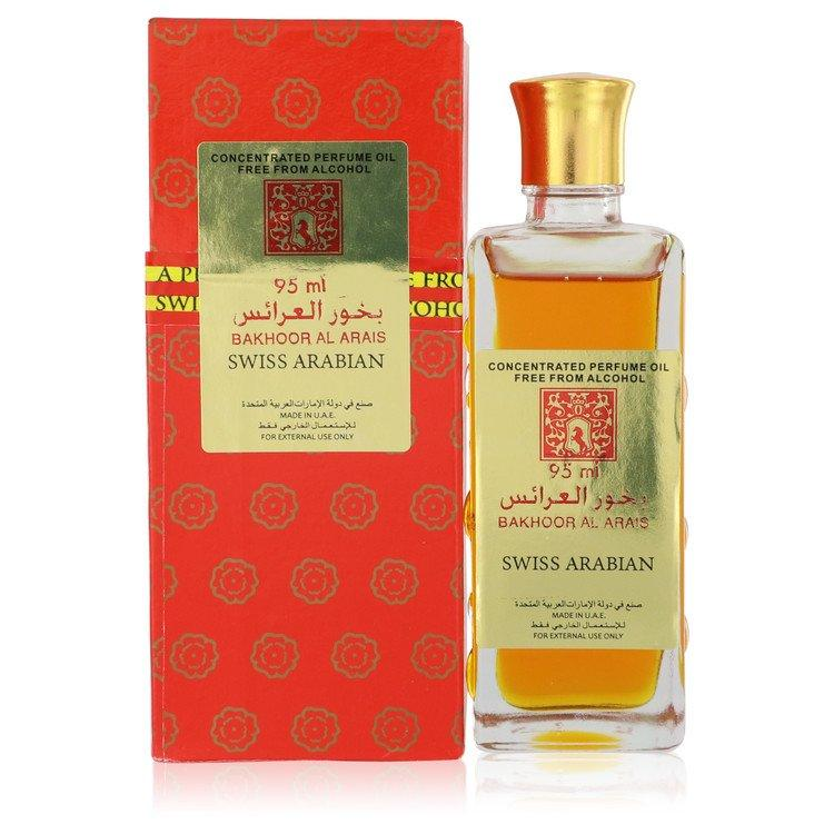 Swiss Arabian Al Arais by Swiss Arabian Concentrated Perfume Oil Free From Alcohol 3.21 oz for Women