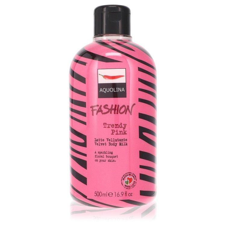 Trendy Pink by Aquolina Velvet Body Milk 16.9 oz for Women - Oliavery
