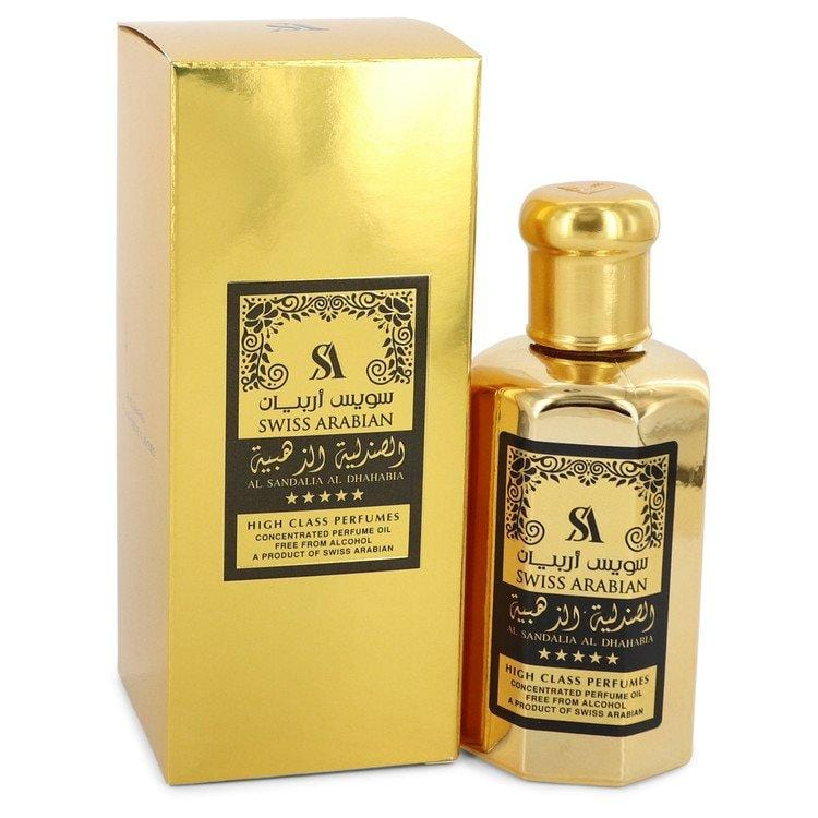Al Sandalia Al Dhahabia by Swiss Arabian Concentrated Perfume Oil Free From Alcohol (Unisex) 3.21 oz for Women - Oliavery