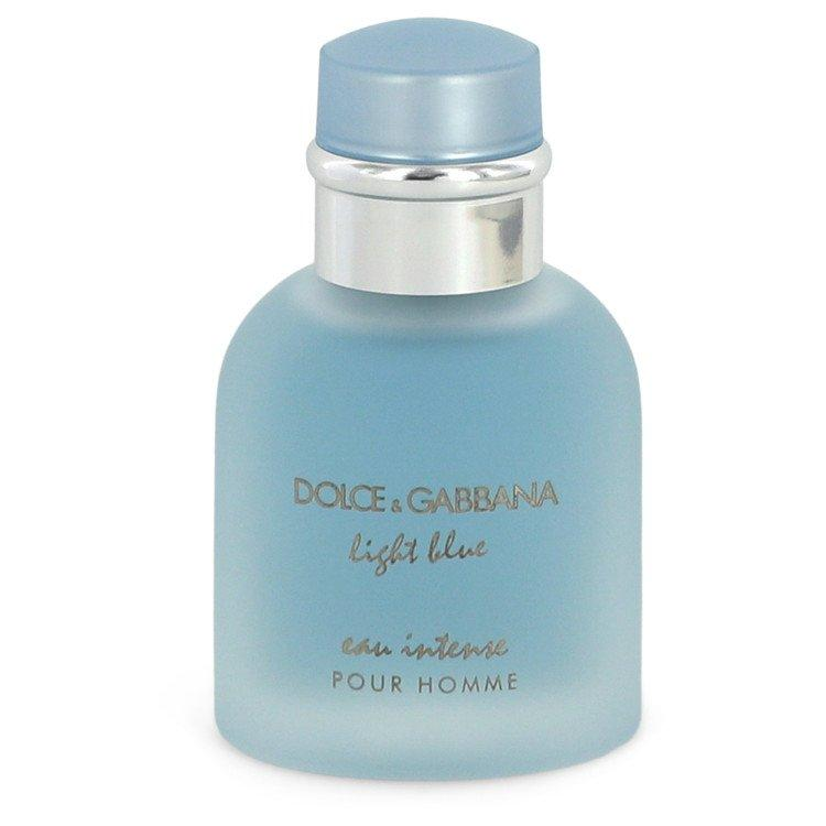 Light Blue Eau Intense by Dolce & Gabbana Eau De Parfum Spray (unboxed) 1.7 oz for Men