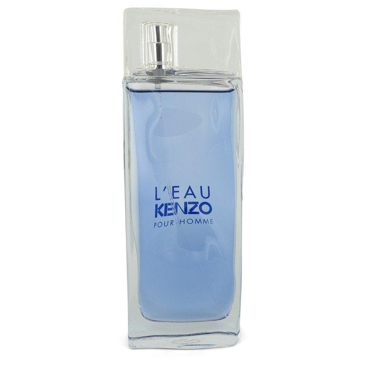 L'eau Kenzo by Kenzo Eau De Toilette Spray (unboxed) 3.3 oz for Men