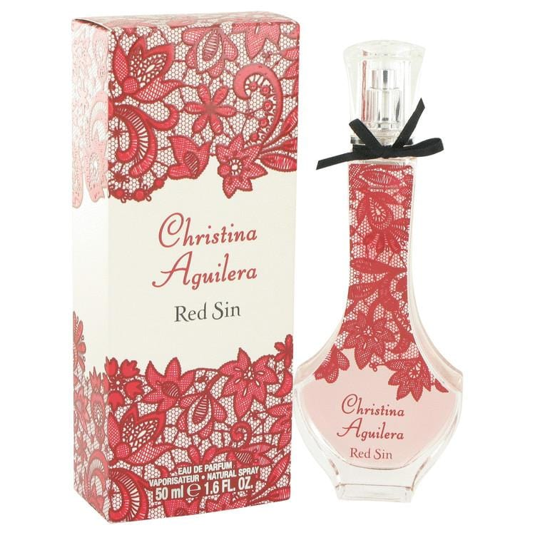 Christina Aguilera Red Sin by Christina Aguilera Eau De Parfum Spray (unboxed) 1.7 oz for Women - Oliavery