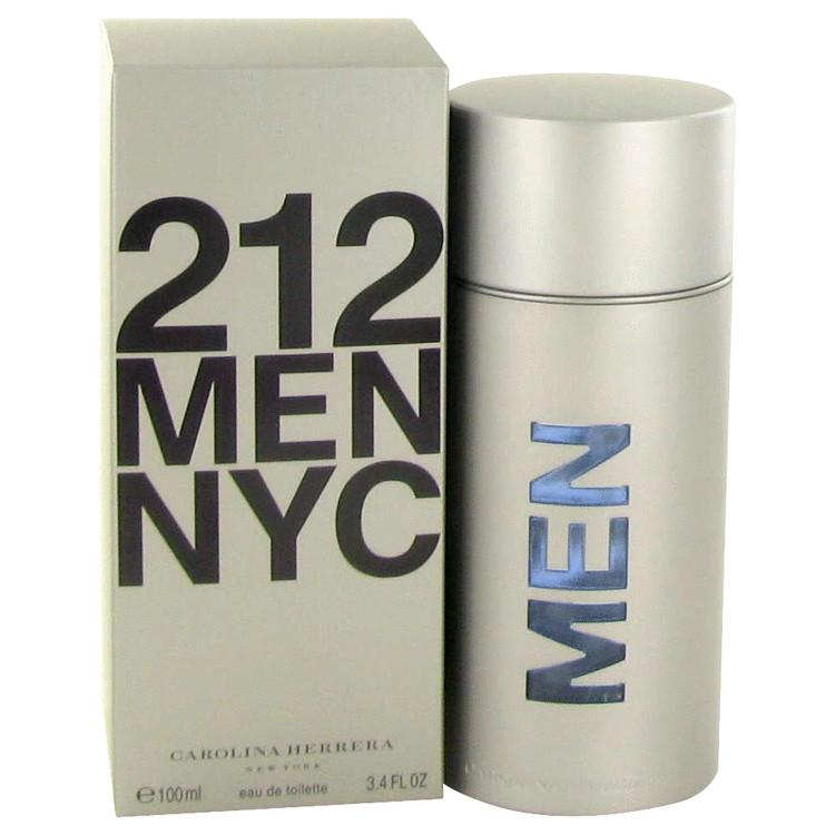 212 by Carolina Herrera Eau De Toilette Spray for Men - Oliavery