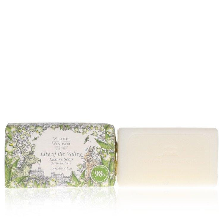 Lily of the Valley (Woods of Windsor) by Woods of Windsor Soap 6.7 oz for Women - Oliavery