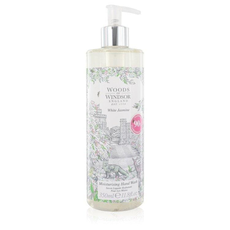 White Jasmine by Woods of Windsor Hand Wash 11.8 oz for Women - Oliavery