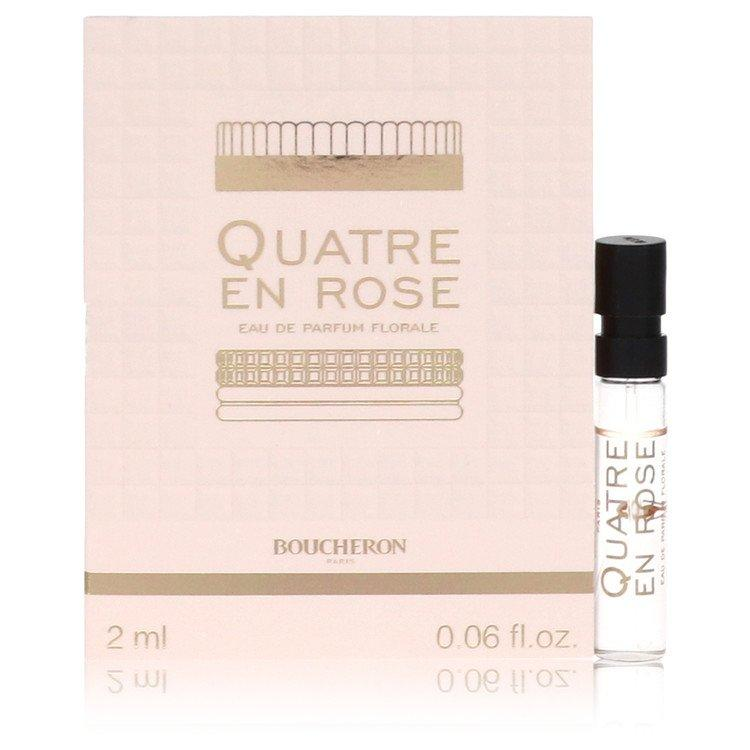 Quatre En Rose Florale by Boucheron Vial (Sample) .06 oz for Women - Oliavery