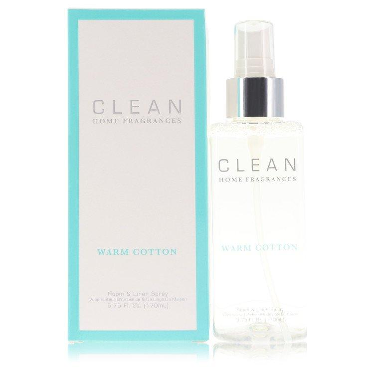 Clean Warm Cotton by Clean Room & Linen Spray 5.75 oz for Women - Oliavery
