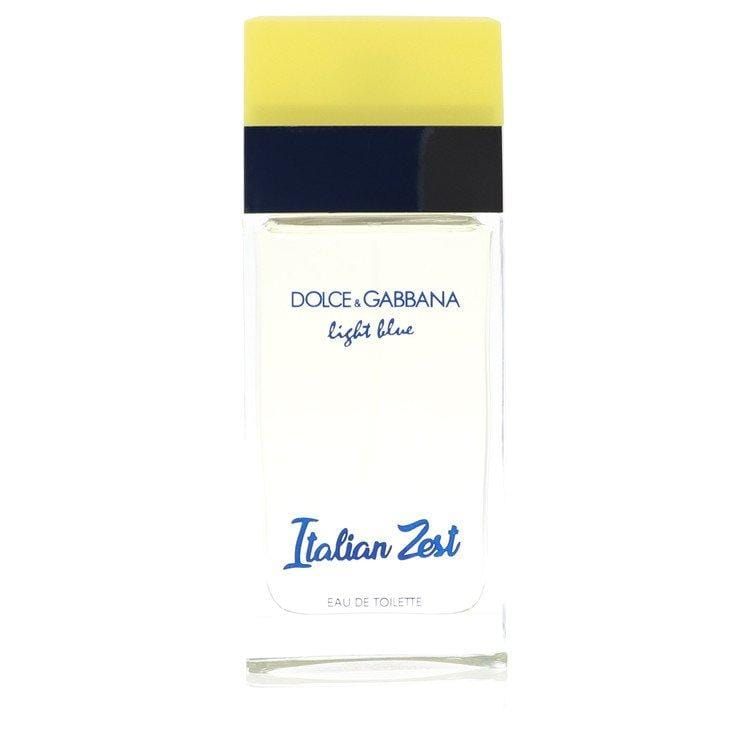 Light Blue Italian Zest by Dolce & Gabbana Eau De Toilette Spray (unboxed) 3.4 oz for Women - Oliavery