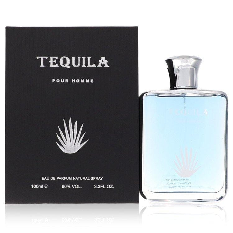 Tequila Pour Homme by Tequila Perfumes Eau De Parfum Spray 3.3 oz for Men - Oliavery