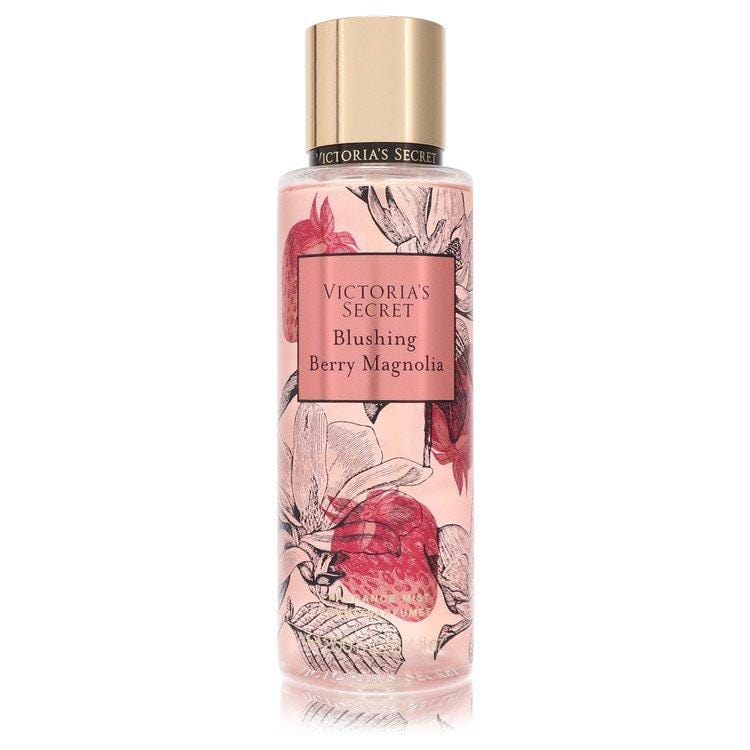 Victoria's Secret Blushing Berry Magnolia by Victoria's Secret Fragrance Mist Spray 8.4 oz for Women - Oliavery