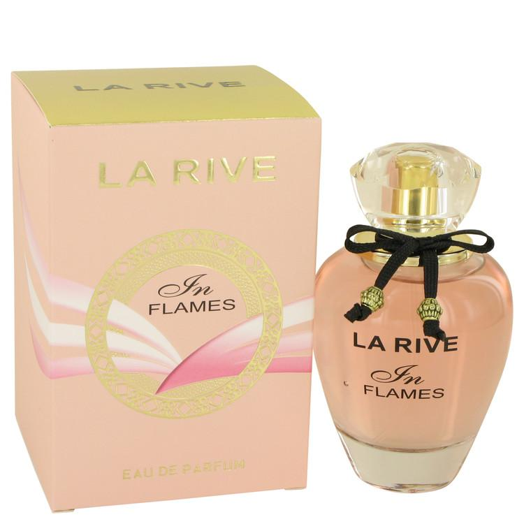 La Rive In Flames by La Rive Eau De Parfum Spray (unboxed) 3 oz for Women