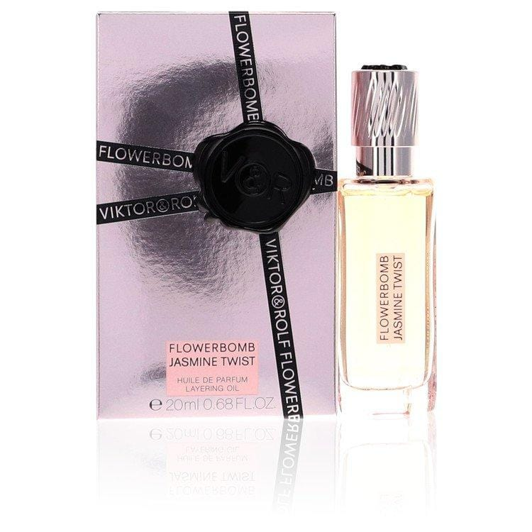 Flowerbomb Jasmine Twist by Viktor & Rolf Huile De Parfum Layering Oil .68 oz for Women - Oliavery