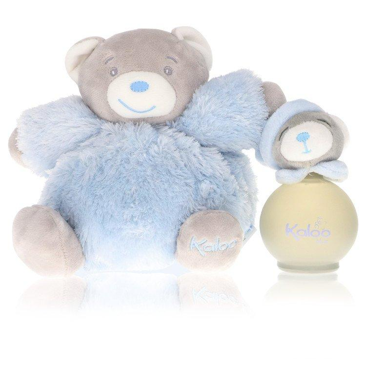 Kaloo Blue by Kaloo Eau De Senteur Spray  + Free Fluffy Bear(Alcohol Free unboxed) 3.2 oz for Men - Oliavery
