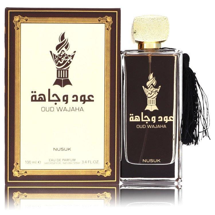 Nusuk Oud Wajaha by Nusuk Eau De Parfum Spray (Unisex) 3.4 oz for Men - Oliavery