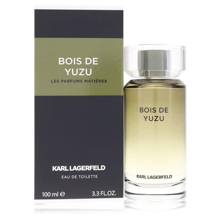 Bois De Yuzu by Karl Lagerfeld Eau De Toilette Spray 3.3 oz for Men - Oliavery