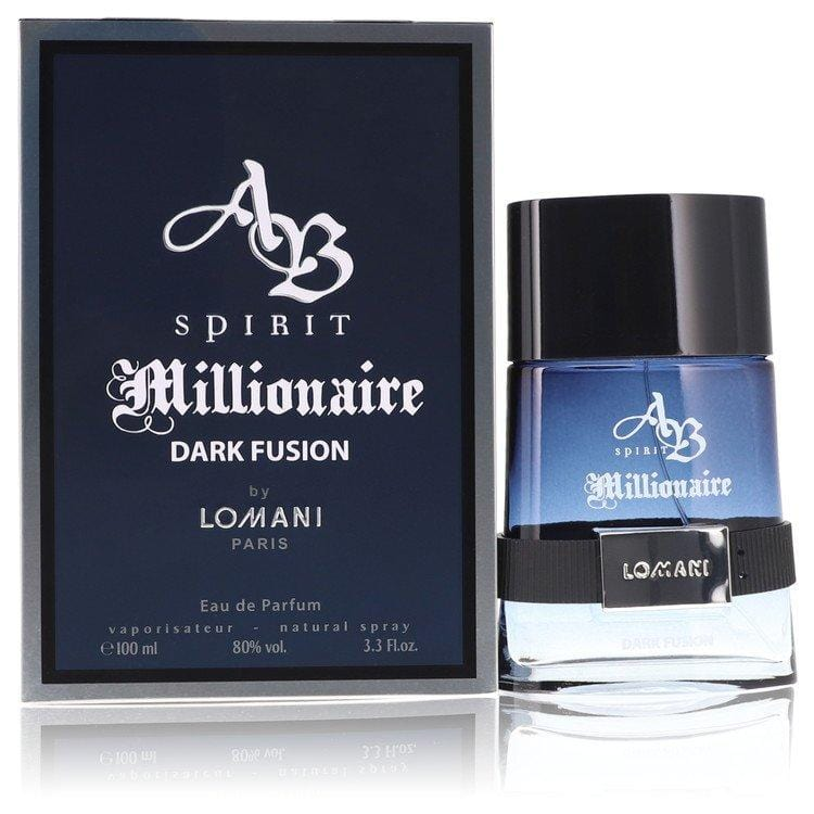 Spirit Millionaire Dark Fusion by Lomani Eau De Parfum Spray 3.3 oz for Men - Oliavery