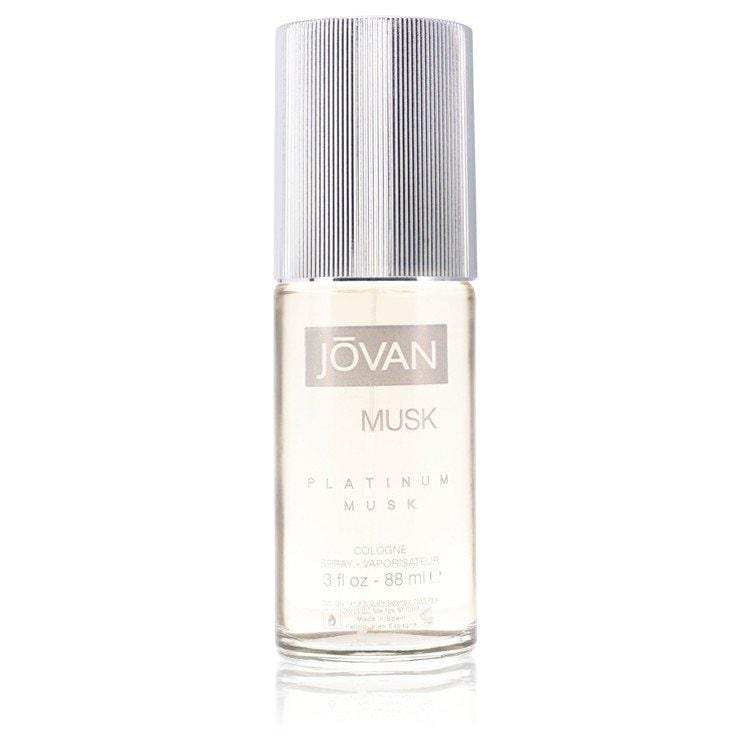 Jovan Platinum Musk by Jovan Cologne Spray (unboxed) 3 oz for Men - Oliavery