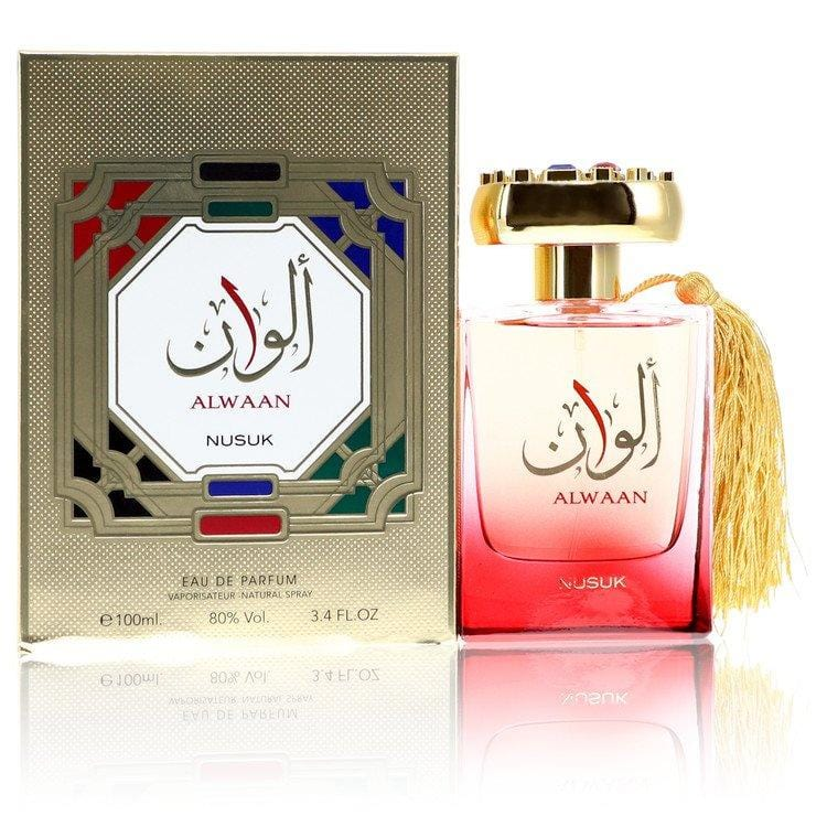Alwaan by Nusuk Eau De Parfum Spray (Unisex) 3.4 oz for Women - Oliavery