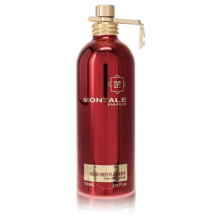 Montale Aoud Red Flowers by Montale Eau De Parfum Spray (unboxed) 3.3 oz for Women - Oliavery