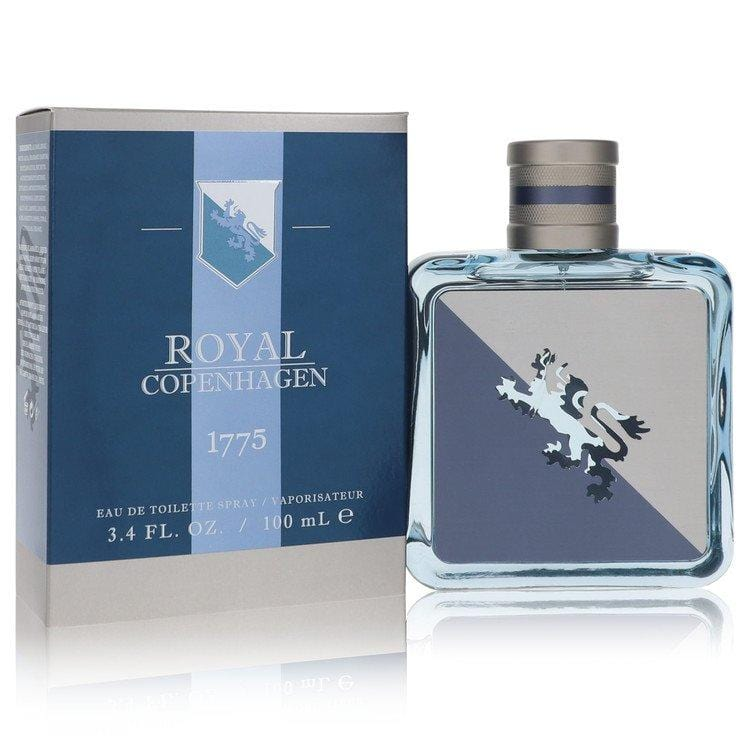 Royal Copenhagen 1775 by Royal Copenhagen Eau De Toilette Spray 3.4 oz for Men - Oliavery