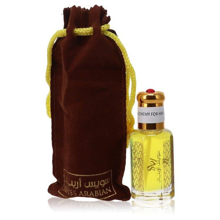 Alchemy For Her by Swiss Arabian Perfume Oil (Unboxed) .41 oz for Women - Oliavery