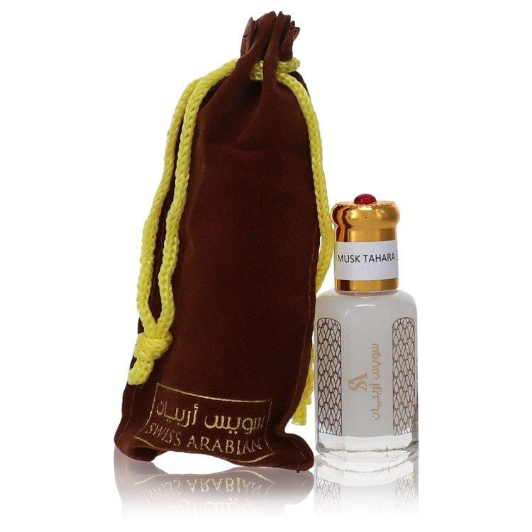 Musk Tahara by Swiss Arabian Perfume Oil (Unisex) .41 oz for Men