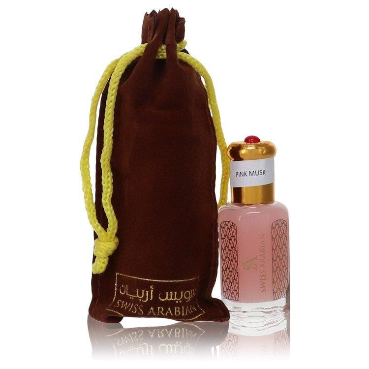Pink Musk Tahara by Swiss Arabian Perfume Oil (Unisex) .41 oz for Men - Oliavery