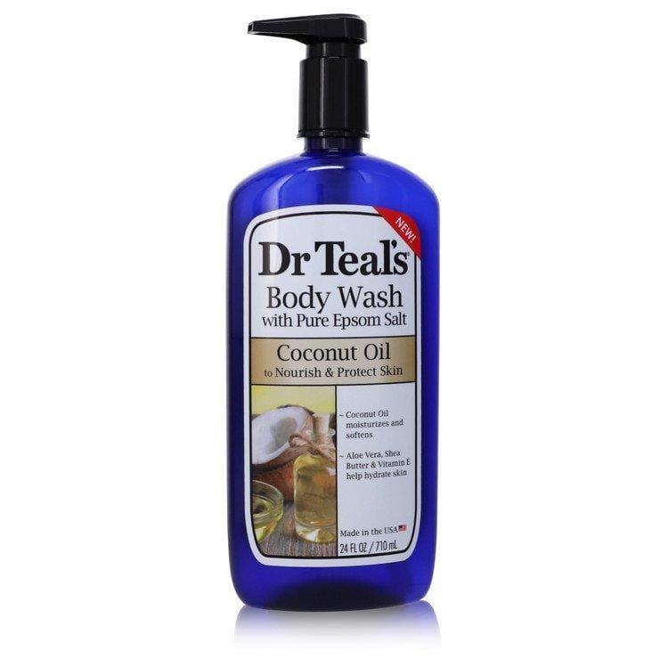 Dr Teal's Body Wash With Pure Epsom Salt by Dr Teal's Body Wast with pure epsom salt with Coconut oil 24 oz for Women - Oliavery