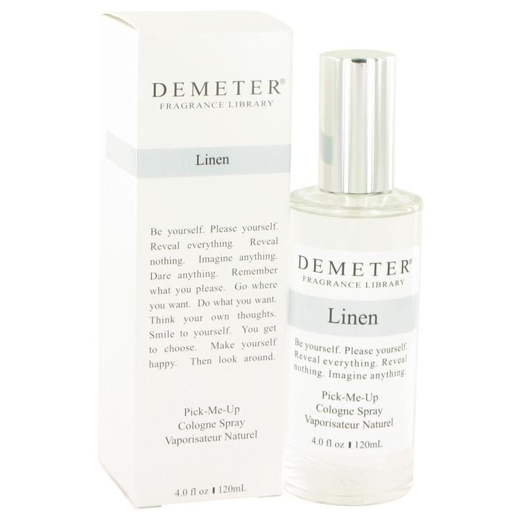 Demeter Linen by Demeter Cologne Spray (unboxed) 4 oz for Women