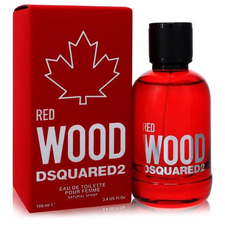 Dsquared2 Red Wood by Dsquared2 Eau De Toilette Spray 3.4 oz for Women - Oliavery
