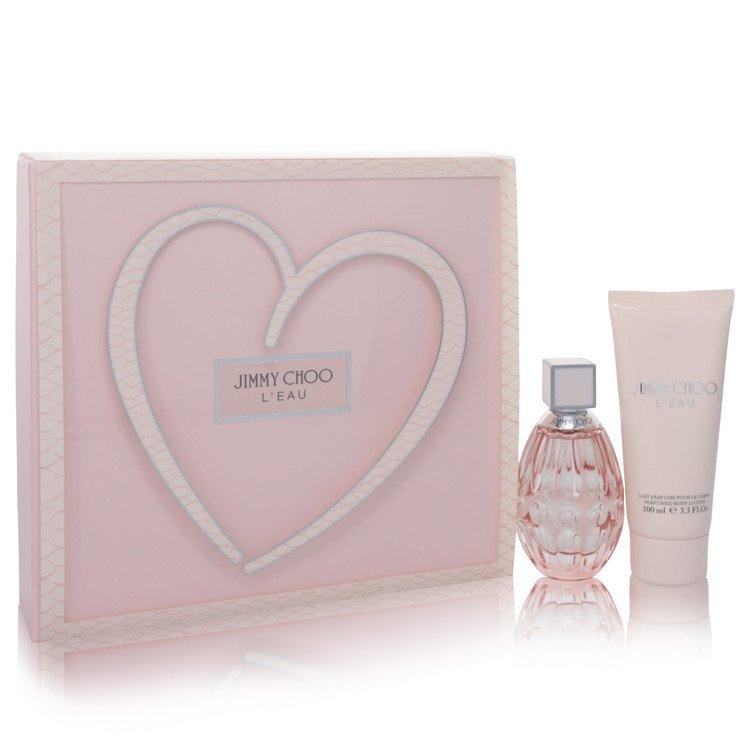 Jimmy Choo L'eau by Jimmy Choo Gift Set -- 2 oz Eau De Toilette Spray + 3.3 oz Body Lotion for Women - Oliavery