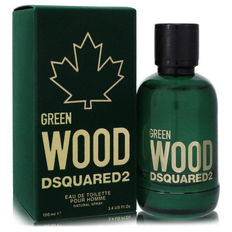 Dsquared2 Green Wood by Dsquared2 Eau De Toilette Spray 3.4 oz for Men - Oliavery