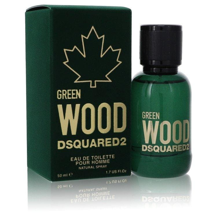 Dsquared2 Green Wood by Dsquared2 Eau De Toilette Spray 1.7 oz for Men - Oliavery