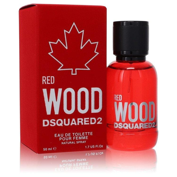 Dsquared2 Red Wood by Dsquared2 Eau De Toilette Spray 1.7 oz for Women - Oliavery