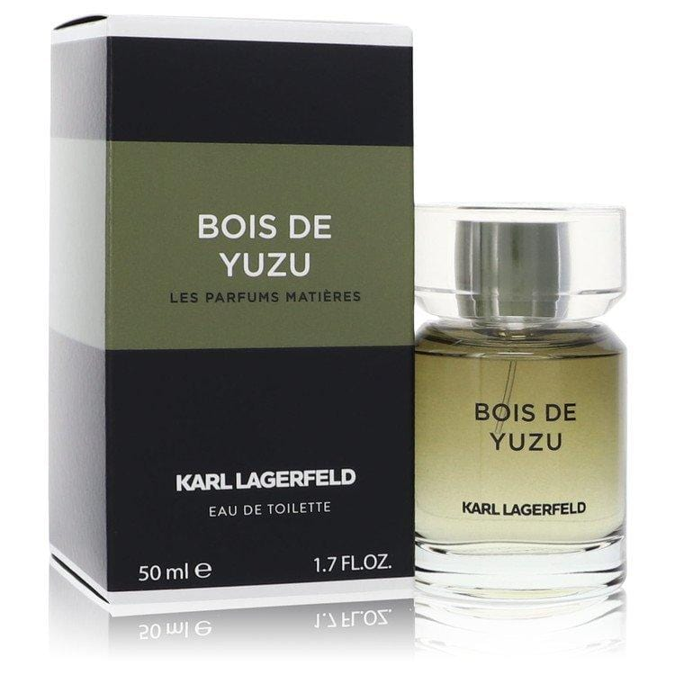Bois De Yuzu by Karl Lagerfeld Eau De Toilette Spray for Men - Oliavery