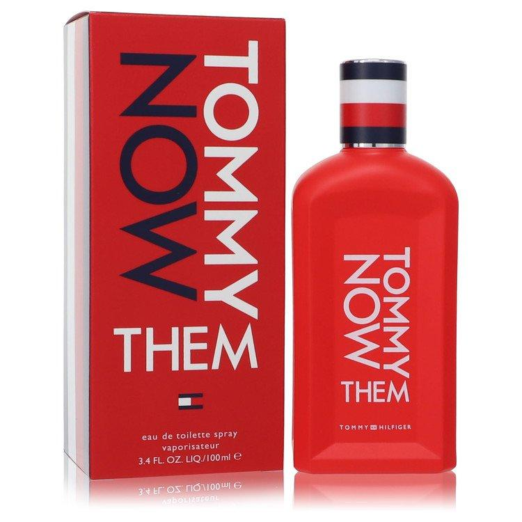 Tommy Now Them by Tommy Hilfiger Eau De Toilette Spray (Unisex) 3.4 oz for Men - Oliavery