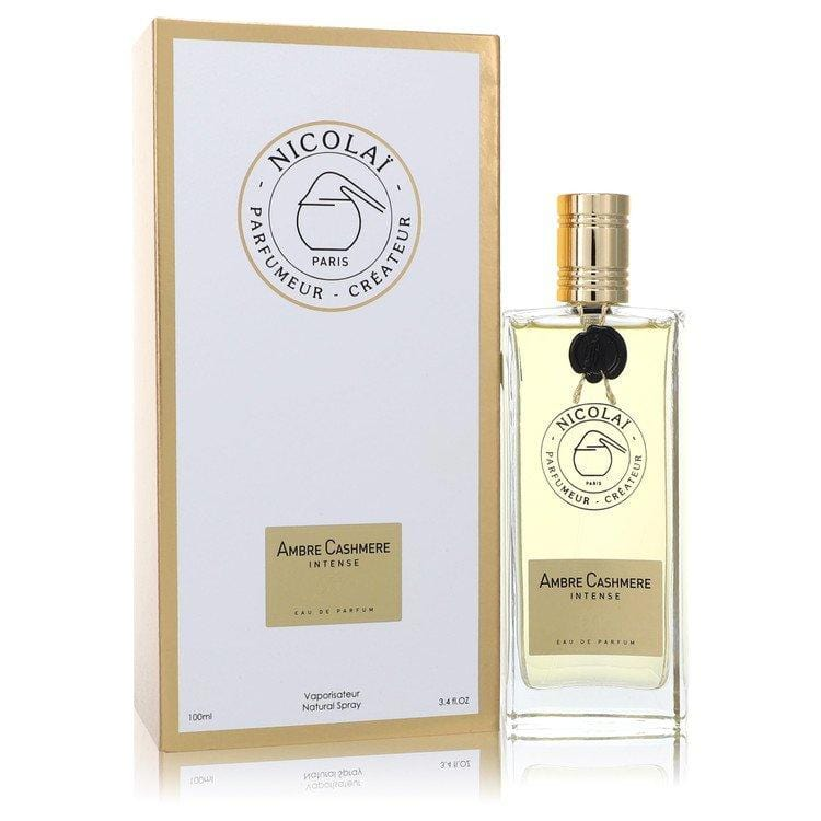 Ambre Cashmere Intense by Nicolai Eau De Parfum Spray (Unisex) 3.4 oz for Women - Oliavery