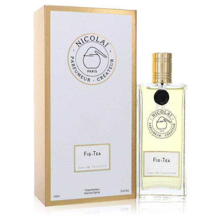 Nicolai Fig Tea by Nicolai Eau De Toilette Spray 3.4 oz for Women - Oliavery