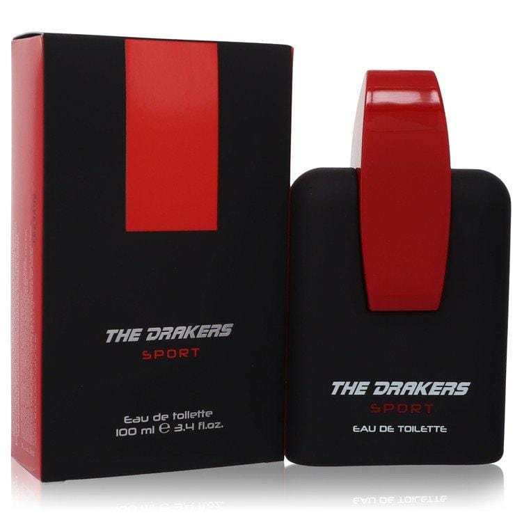 The Drakers Sport by Ferrari Eau De Toilette Spray 3.4 oz for Men - Oliavery