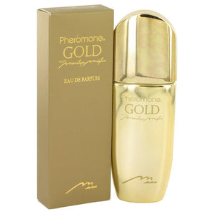 Pheromone Gold by Marilyn Miglin Eau De Parfum Spray 3.4 oz for Women - Oliavery